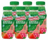 Сокосодержащий напиток Добрый кашалот клубника-малина 0.05%, 250 г