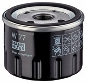 Масляный фильтр MANNFILTER W77