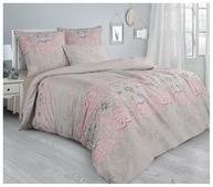 Постельное белье 2-спальное Guten Morgen Paisley Pink 862 70х70 см, сатин