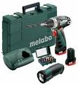 Аккумуляторная дрель-шуруповерт Metabo PowerMaxx BS 2014 Basic 2.0Ач х2 кейс комплект5 34 Н·м