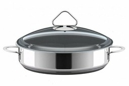 ВСМПО-Посуда Гурман-Стекло 220226 26 см с крышкой