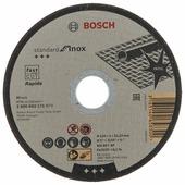 Диск отрезной 125x1x22.23 BOSCH Standard for Inox - Rapido 2608603171