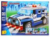 Электромеханический конструктор ГОРОД МАСТЕРОВ Полиция 3025 Полицейская машина