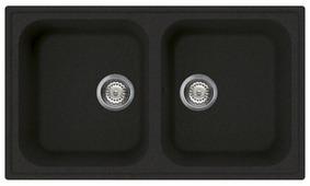 Врезная кухонная мойка smeg LZ862 86х50см искусственный гранит