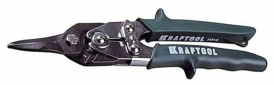 Строительные ножницы с прямым резом 260 мм Kraftool Universal 2324-S