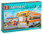 Конструктор SLUBAN Автобус M38-B0332 Троллейбус