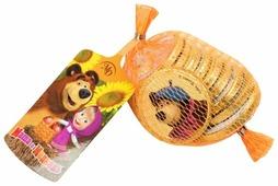 Фигурный шоколад Монетный двор Шоколадные монетки Маша и медведь