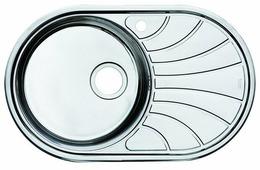 Врезная кухонная мойка IDDIS Suno SUN77SLi77 77х48см нержавеющая сталь
