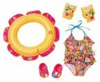 Zapf Creation Комплект одежды и аксессуаров для купания для куклы Baby Born 825891
