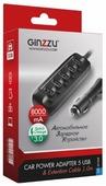 Автомобильная зарядка Ginzzu GA-4514UB