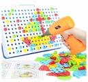BeeZee Toys Развивающие инструменты, мозаика Волшебный шуруповерт (DNS-1011)
