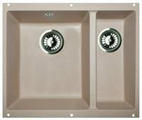 Врезная кухонная мойка Zigmund & Shtain INTEGRA 500.2 52.5х46см искусственный гранит