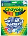 Crayola Фломастеры смываемые 8 шт. (58-8328)