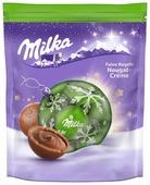 Конфеты Milka Feine Kugeln Nougat-creme с ореховой начинкой