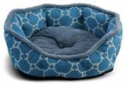 Лежак для кошек, для собак Triol Лазурный берег M овальный 57х52х14 см
