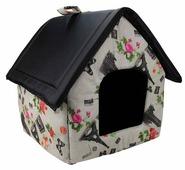 Будка для собак Dogman Будка микс малая 33х33х36 см