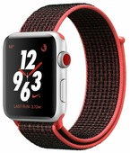 Часы Apple Watch Series 3 Cellular 38mm Aluminum Case with Nike Sport Loop