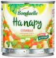 Овощная смесь На пару для салата Оливье Bonduelle жестяная банка 310 г 425 мл