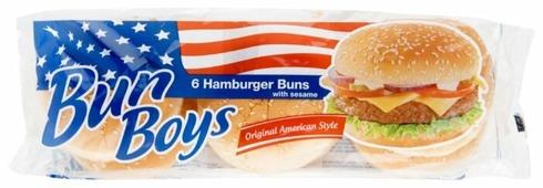 BUN BOYS Булочки для гамбургера с кунжутом 300 г