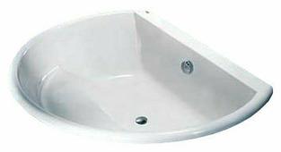 Ванна KOLO FURORA 165x130 акрил