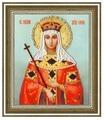 Золотое Руно Набор для вышивания бисером Икона Святой Равноапостольной Царицы Елены 15 х 12,5 см (РТ-125)