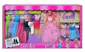 Кукла с нарядами Defa Lucy 29 см 8193