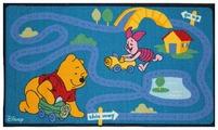 Придверный коврик VELCOC для детей на прорезиненой основе Disney Дорога W10052