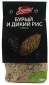 Рисовая смесь Bravolli бурый и дикий, 350 г