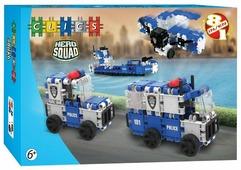 Конструктор Clics Hero Squad ВС006 Полиция