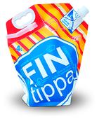 Жидкость для стеклоомывателя Fin Tippa Bubble Gum Nozzle, -20°C, 4 л