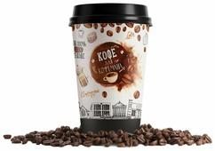 Кофе молотый в стакане Всякие штуки Для кофемана
