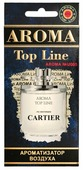 AROMA TOP LINE Ароматизатор для автомобиля Aroma №U005 Cartier Eau de Cartier 14 г
