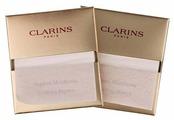 Clarins Салфетки матирующие Papiers Matifiants 140 шт.