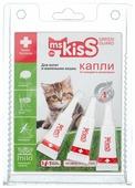 Ms.Kiss Капли репеллентные для кошек до 2 кг