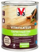 Лак V33 Паркетный ECO-Protect полуглянцевый (0.75 л) водорастворимый