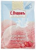 Смесь для мороженого С.Пудовъ Мороженое Домашнее Клубничное 70 г