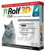 RolfСlub 3D Ошейник от клещей и блох для кошек, 40 см