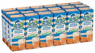 Молочный коктейль Простоквашино Вареная сгущенка 2.5%, 210 г, 18 шт.