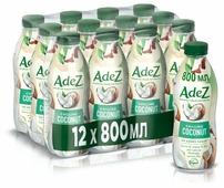 Кокосовый напиток Adez Освежающий кокос 800 мл, 12 шт.