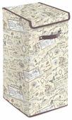 Valiant Корзина для белья с крышкой Romantic RM-BOX-LXL 60х35х35 см