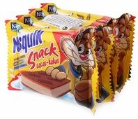 Пирожное Nesquik Snack с какао и молочным кремом 18.9%, 26 г