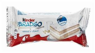 Пирожное Kinder Paradiso 37.9%, 29 г