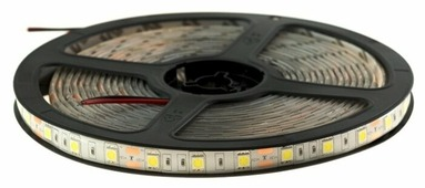Светодиодная лента URM 5050-60led-12V-14.4W-10-12LM-6500K-IP65-10mm 5 м
