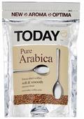 Кофе растворимый Today Pure Arabica сублимированный, пакет