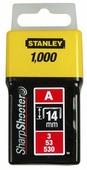 Скобы STANLEY 1-TRA209T тип 53 для степлера, 14 мм