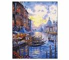 """Рыжий кот Картина по номерам """"Любимая Венеция"""" 40х50 см (B984)"""