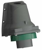 Вилка силовая (CEE) стационарная для монтажа на поверхности/оборудовании ABB 2CMA101193R1000