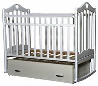 Кроватка Антел Каролина-4 (поперечный маятник + ящик)