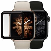 Защитное стекло Mobius для Apple Watch 4 3D Full Cover (40 мм)
