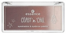 Essence Тени для бровей и век Coast N Chill Eyeshadow & Eyebrow Palette